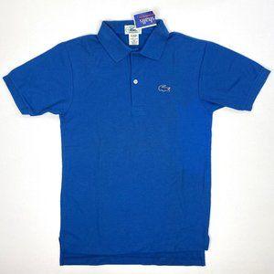 Lacoste Boys Short-Sleeve Blue Polo Shirt NWT L